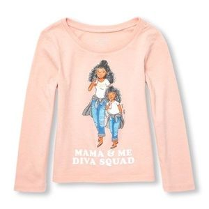 Mama And Me Squad' Fashionista Graphic Tee
